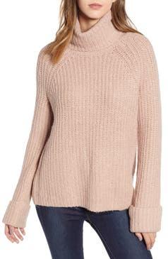 Pink BP Cozy Turtleneck Sweater