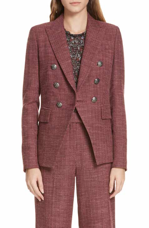 f560a0fccc58 Veronica Beard Miller Wool Blend Dickey Jacket