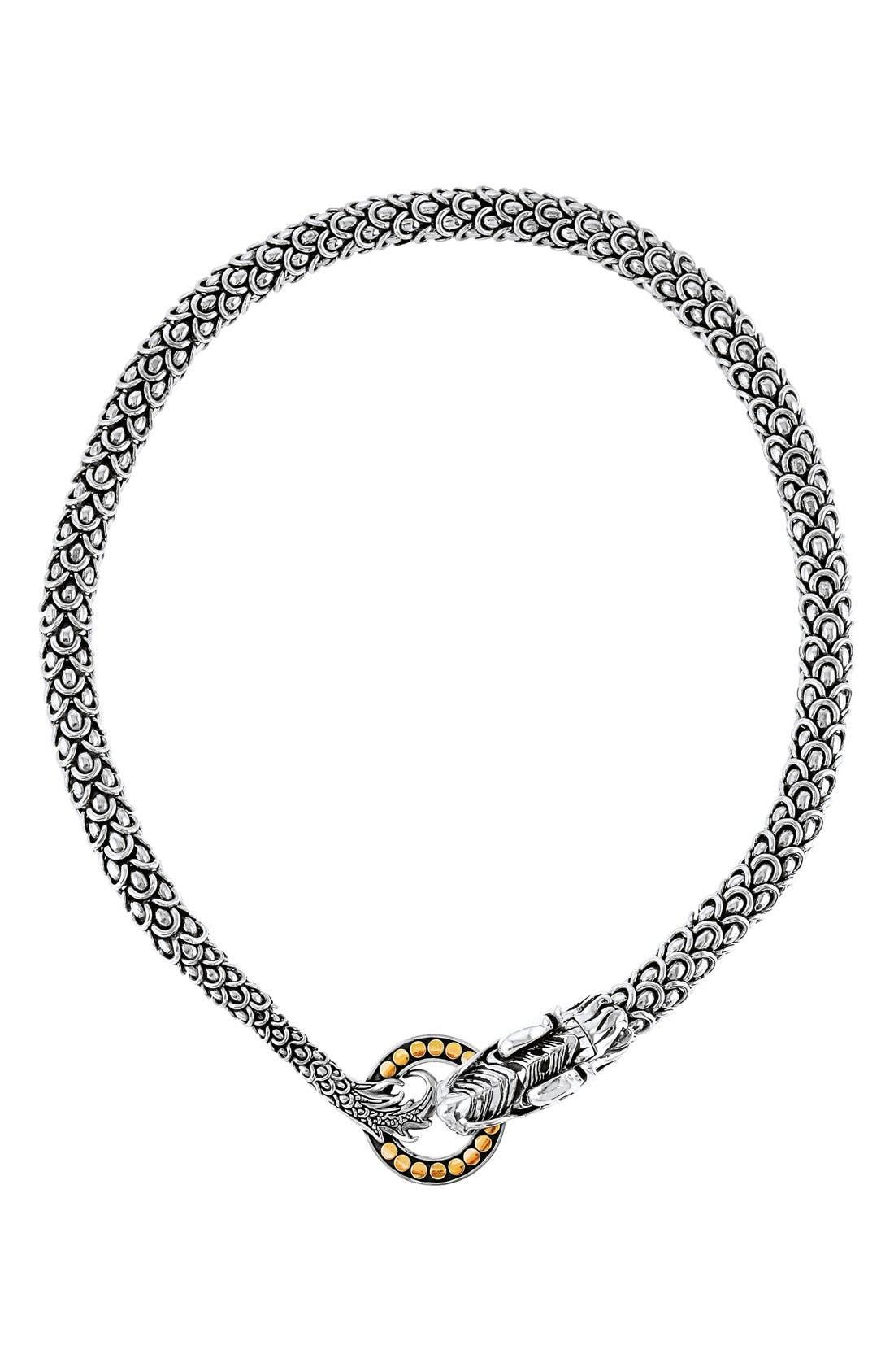 'Naga' Dragon Necklace,                         Main,                         color, No Color