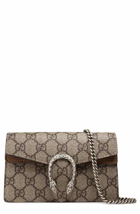 7f31a0a999a Gucci Super Mini Dionysus GG Supreme Canvas   Suede Shoulder Bag