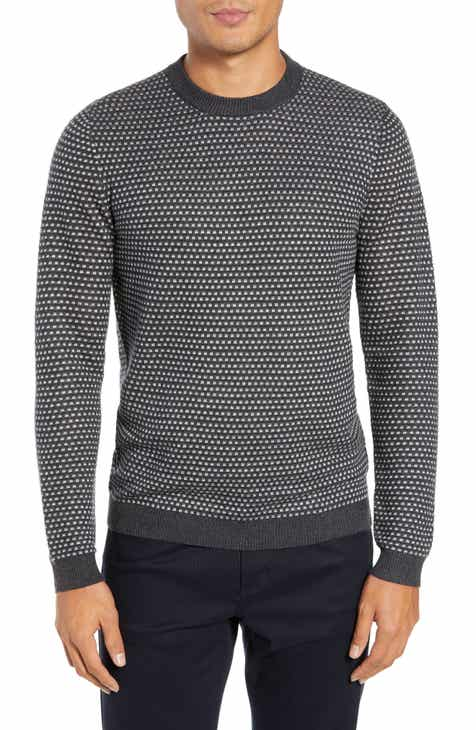 df154ba5f2855c Ted Baker London Malttea Slim Fit Textured Sweater