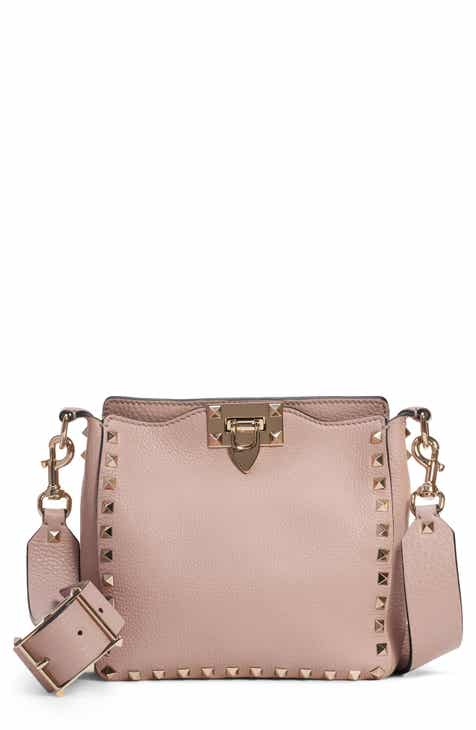 aa95ec18fb VALENTINO GARAVANI Rockstud Mini Hobo Crossbody Bag