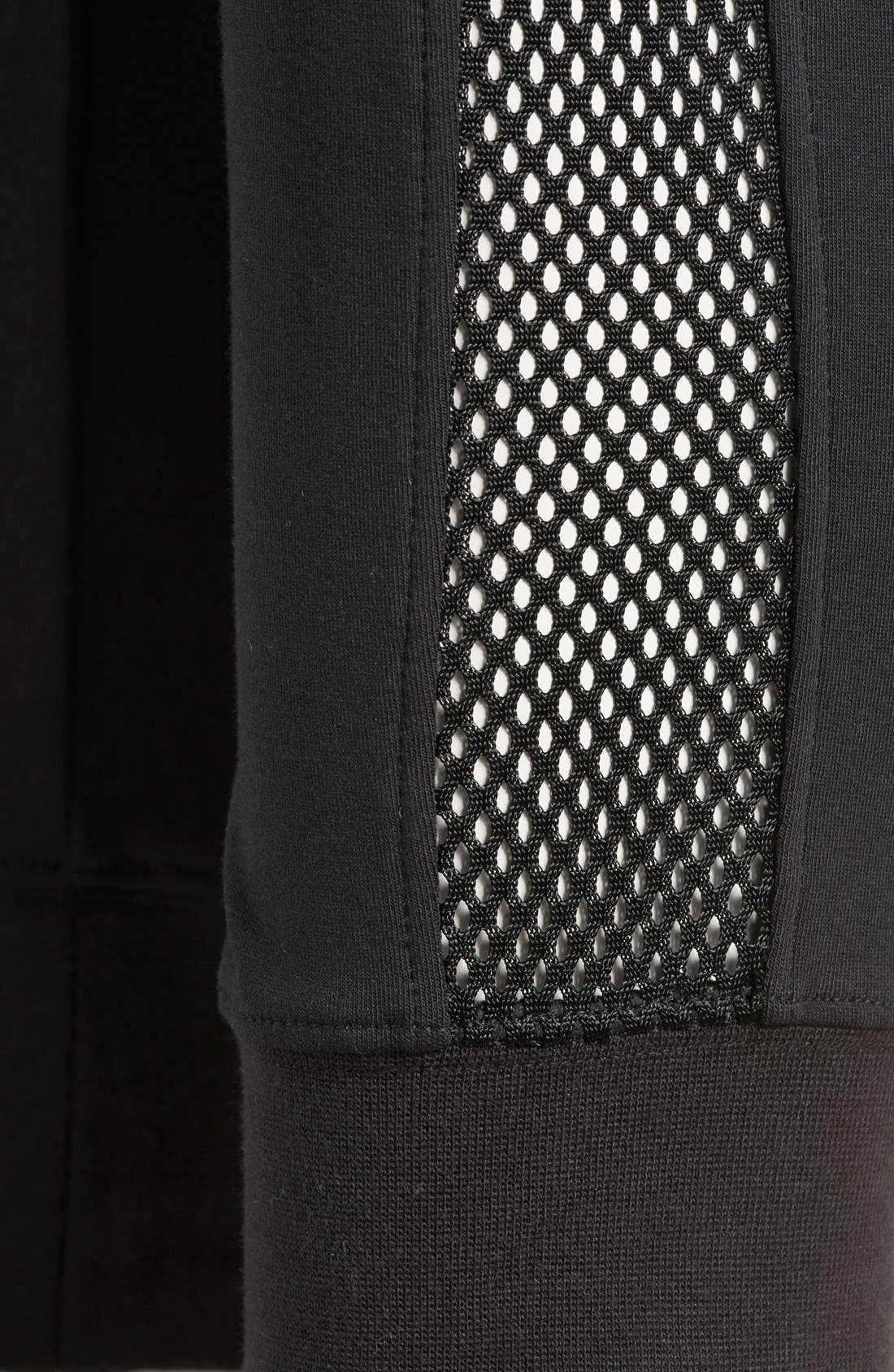 Alternate Image 6  - Nike 'RU Mesh Mix' Cuffed Sweatpants (Women)