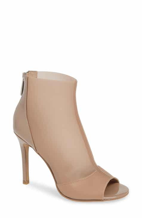 7582a2a5366f Charles by Charles David Reece Open Toe Bootie (Women)