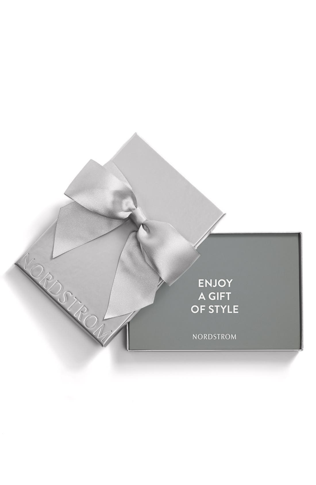 Spa Gift Certificate Nordstrom