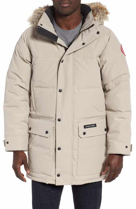 Canada Goose Emory Slim Fit Genuine Coyote Fur Trim Parka