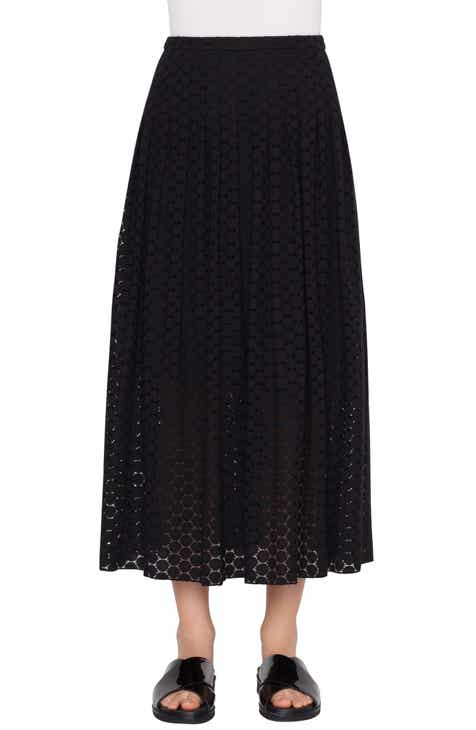 Akris punto Mini Dot Midi Skirt by AKRIS PUNTO