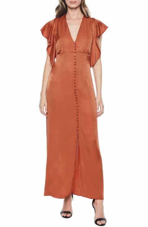 e0fa4055fc Bardot Button Up Maxi Dress