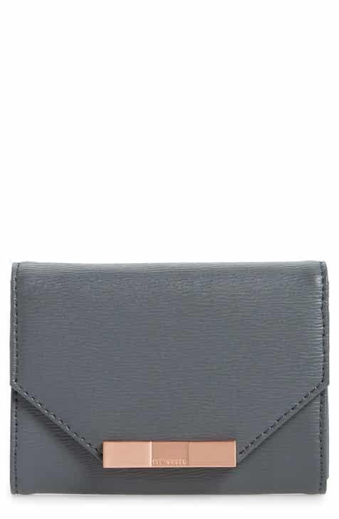 7fa12dd428bad9 ... Ted Baker London Mini Addala Bow Leather Wallet most popular c1324  49b16 . ...