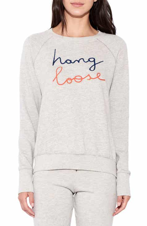 Sundry Hang Loose Long Sleeve Pullover 96c635ed6dc7f