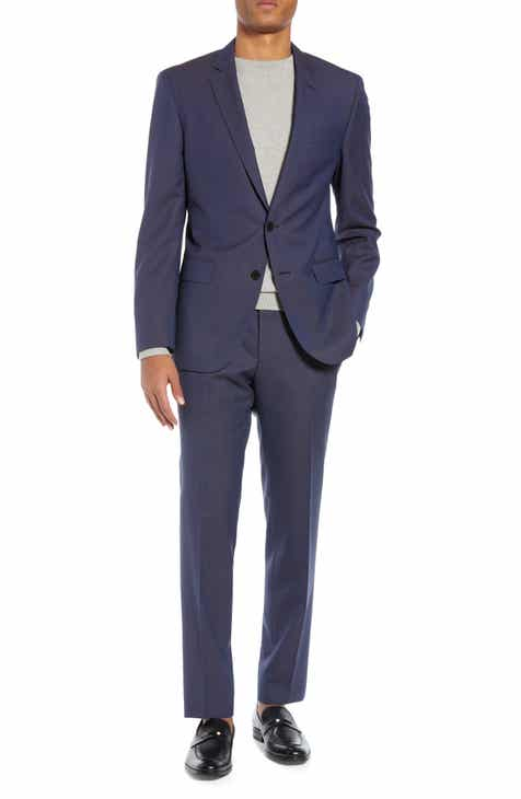 fd6719ad96e7 BOSS Huge Genius Slim Fit Solid Wool Suit