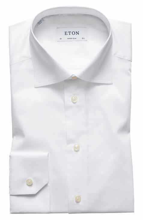 2d2987b58f Eton Super Slim Fit Solid Dress Shirt