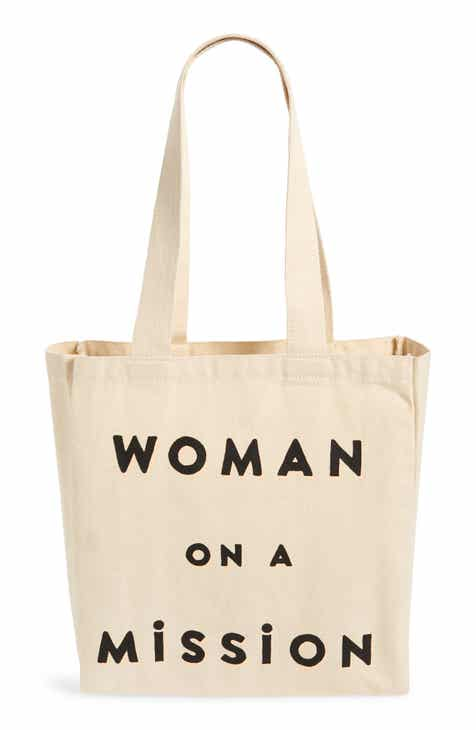 FEED Woman on a Mission Canvas Tote 045824a05