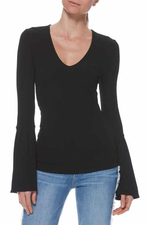 PAIGE Carden Flare Sleeve Top