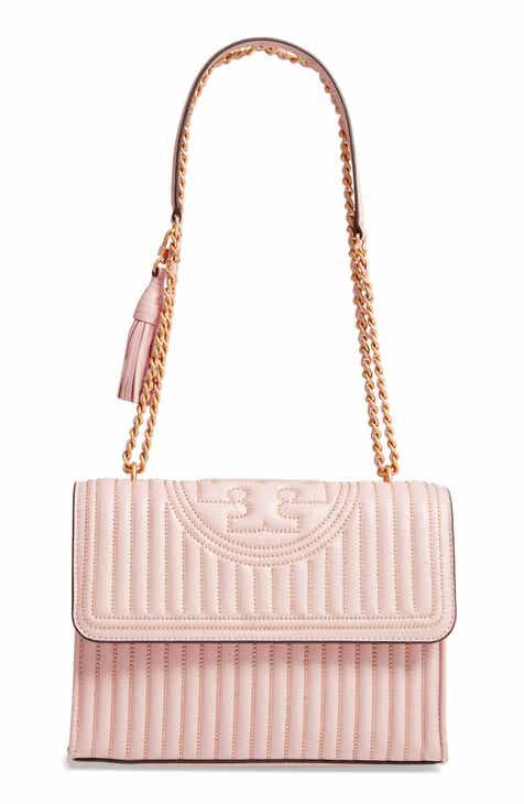 61af2bd04 Tory Burch Fleming Mini Stud Leather Convertible Shoulder Bag