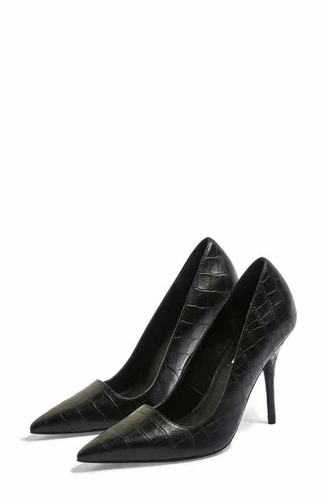 06dc44eb2b8 Topshop Game Elongated Pointy Toe Pump (Women)
