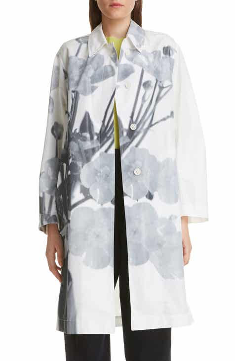 Dries Van Noten Rader Floral Print Cotton Blend Jacket by DRIES VAN NOTEN