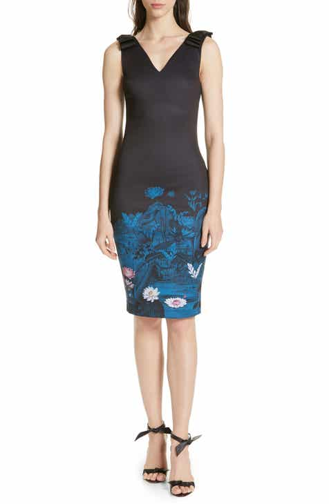 484a43975f Ted Baker London Dinina Wonderland Body-Con Dress