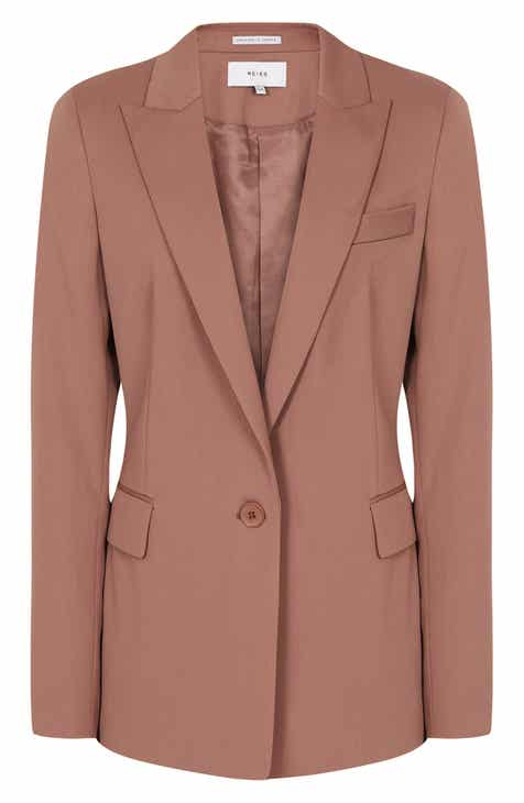 Akris punto Long One-Button Jacket by AKRIS PUNTO