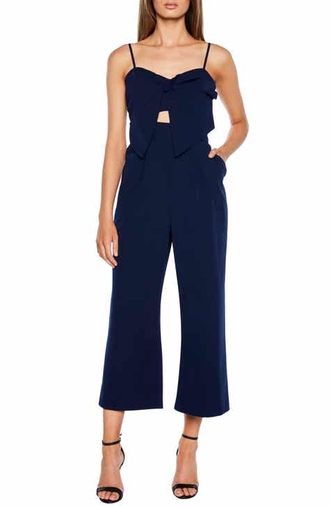 Bardot Lena Twist Bow Jumpsuit by BARDOT