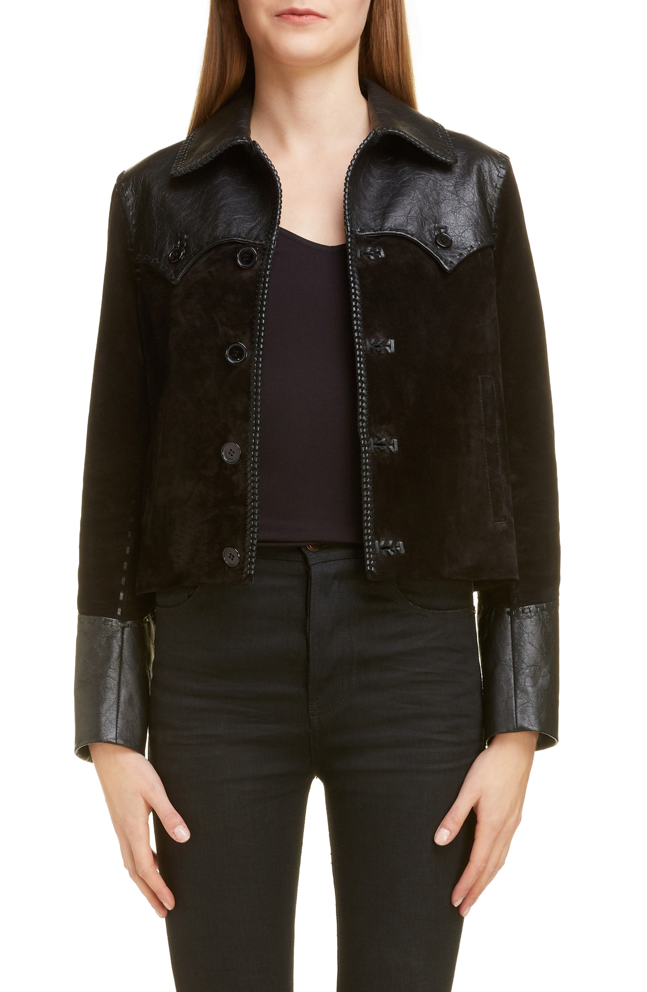 2d2a81102d1 Women's Saint Laurent Coats & Jackets | Nordstrom