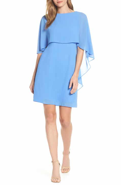 1656195f9d0 Vince Camuto Cape Overlay Dress