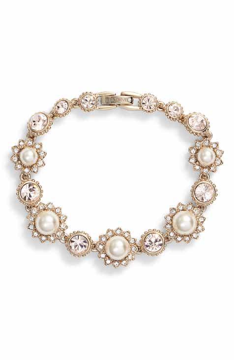 2e3fd36e302dd Marchesa Imitation Pearl Line Bracelet
