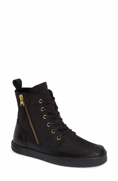 aac3edaf920e Blackstone QL43 High Top Sneaker with Genuine Shearling Lining (Women)