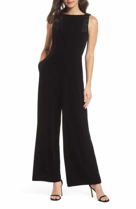 adff38bc354 Julia Jordan Sleeveless Velvet Jumpsuit