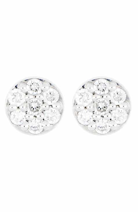 a8702d70f Carrière Small Round Diamond Pavé Stud Earrings (Nordstrom Exclusive)