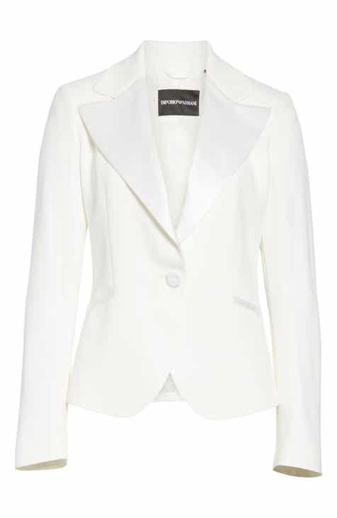 Emporio Armani Woven Jacket by EMPORIO ARMANI