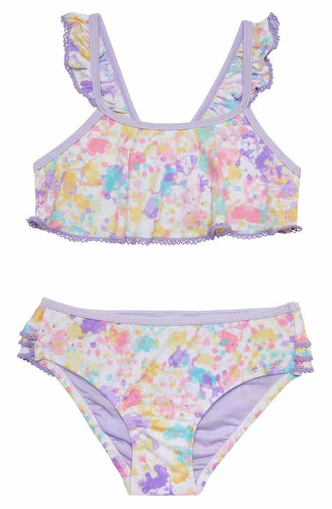 68ef8416d8 Hula Star Paint Party Two-Piece Bikini (Toddler Girls & Little Girls)