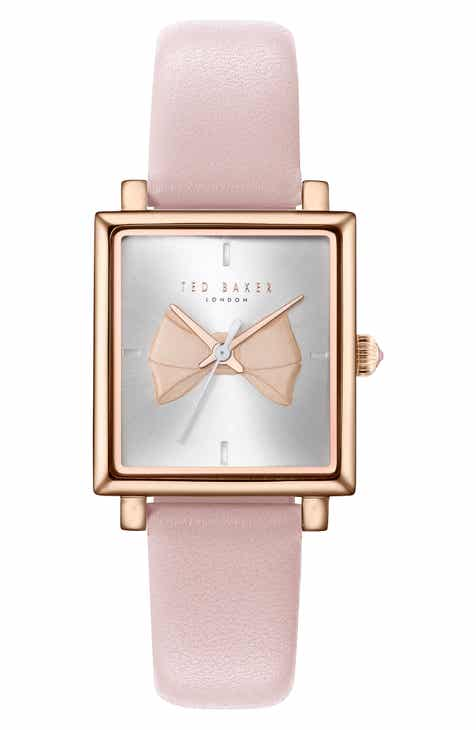 Ted Baker London Isabella Leather Strap Watch ef84ec0dd
