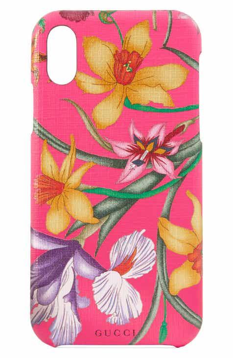 c24faf9c2bfc Gucci GG Blooms iPhone X Xs Case