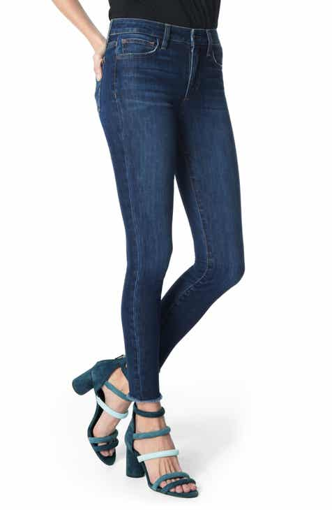 Joe's Icon Frayed Ankle Skinny Jeans (Isadora) (Nordstrom Exclusive) by JOES