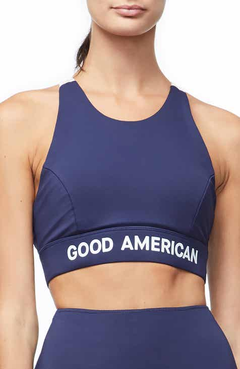 59083e3fbb Good American Reflective Sports Bra (Regular   Plus Size)