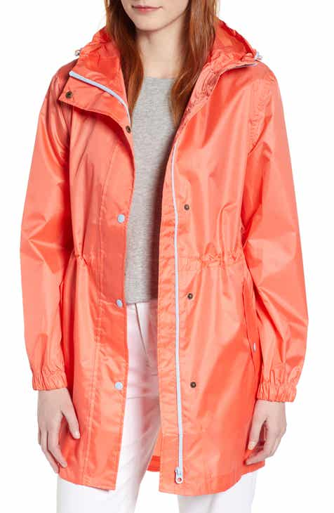 Joules Right As Rain Golightly Packable Waterproof Hooded Jacket by JOULES