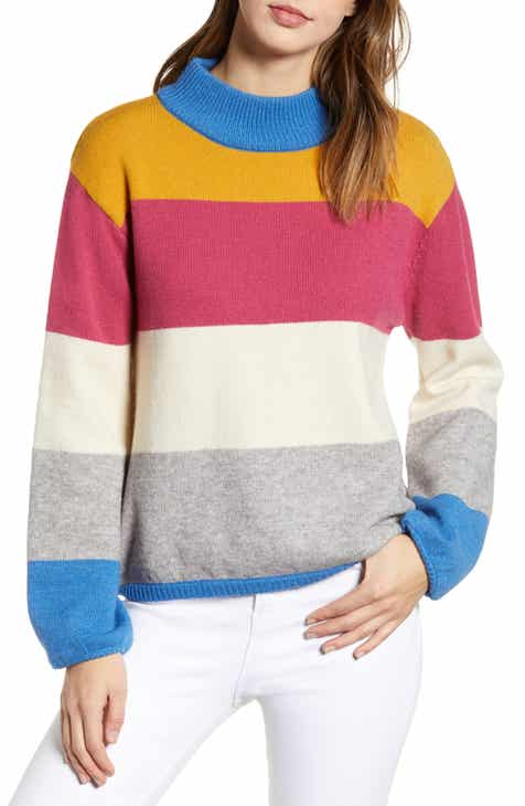 cdd1957563 J.O.A. Colorblock Sweater