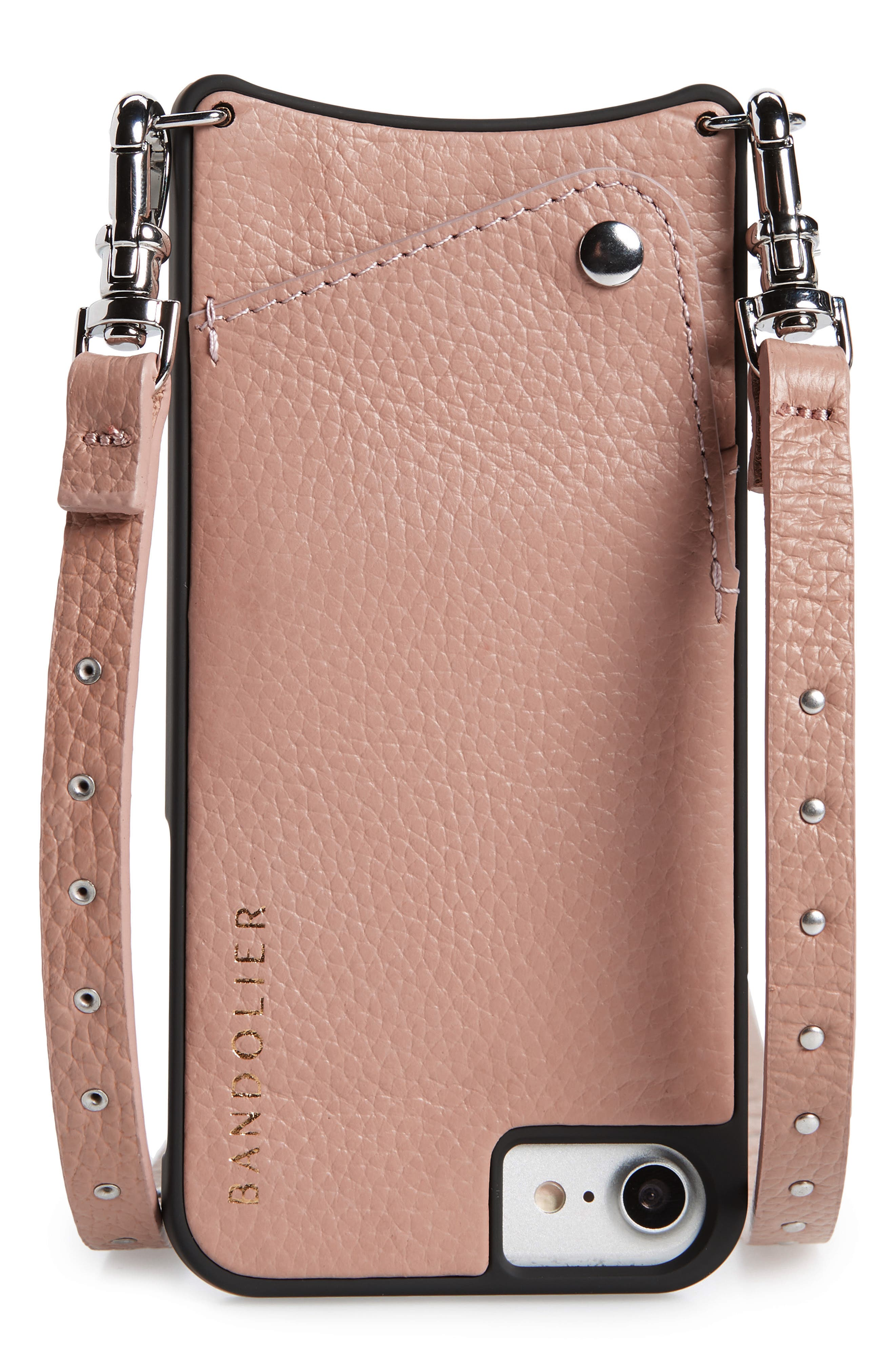 iphone 8 cell phone casesbandolier nicole pebbled leather 6 7 8 \u0026 6 7 8 plus crossbody case