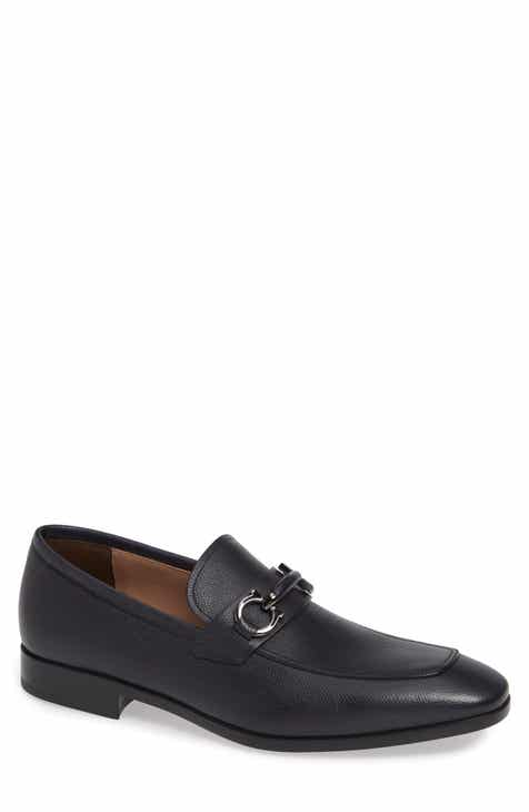 cacaac3922ca0 Salvatore Ferragamo Benford Rounded Bit Loafer (Men)