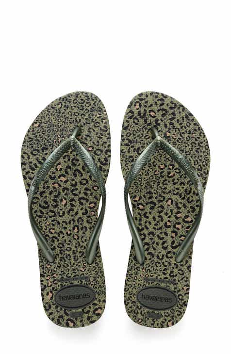 01ac4be0e Havaianas  Slim Animal Print  Flip Flop (Women)
