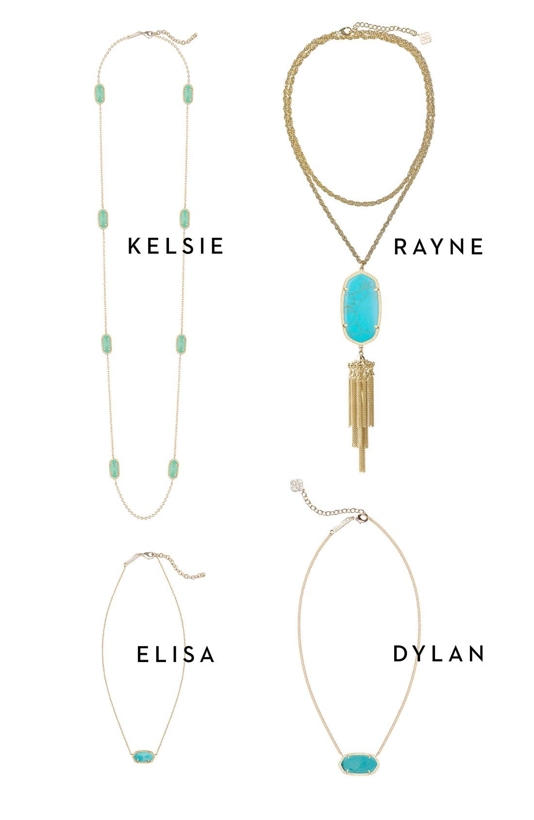 Alternate Image 2  - Kendra Scott Rayne Stone Tassel Pendant Necklace