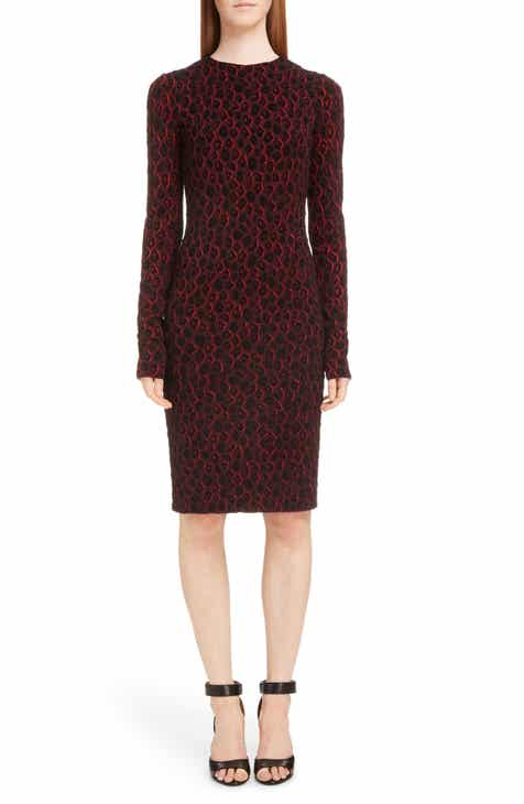 Givenchy Leopard Jacquard Dress by GIVENCHY