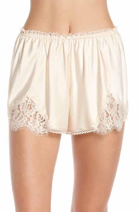 Palindrome Amaranth High Waist French Shorts by PALINDROME