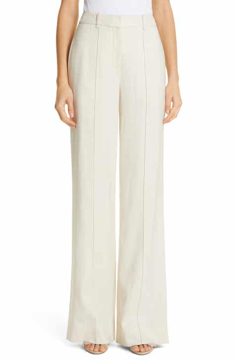 Adam Lippes Stretch Canvas Wide Leg Pants by ADAM LIPPES