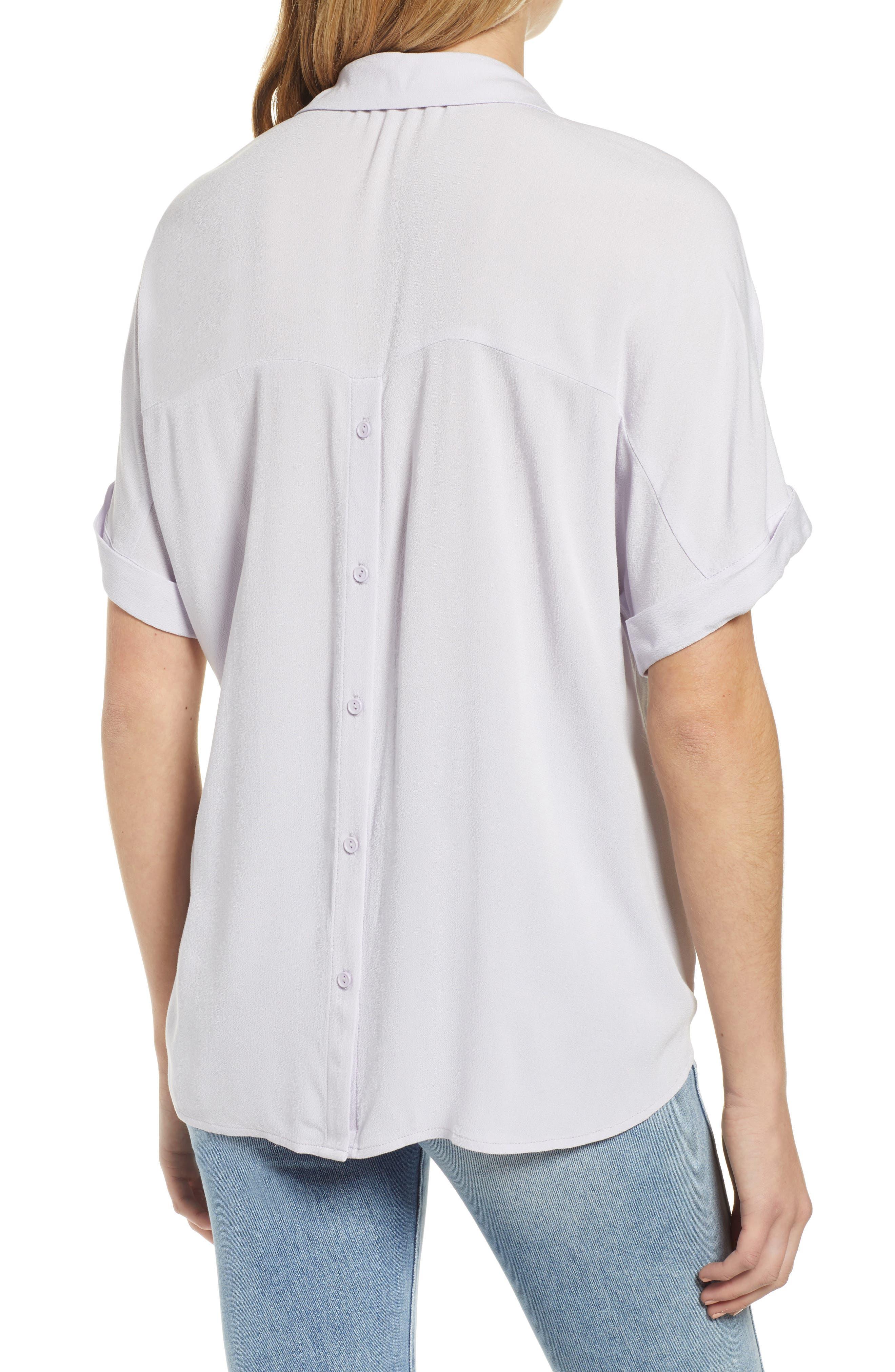 Clothing, Shoes & Accessories Mint Ralph Lauren Classic L/s Pocket Oxford Shirt Mens Medium Light Purple