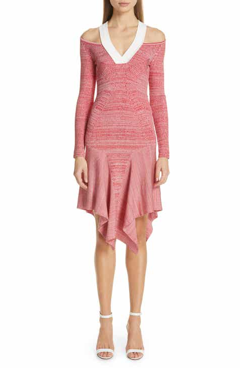 Yigal Azrouël Cutout Mélange Knit Dress by Yigal Azrouel