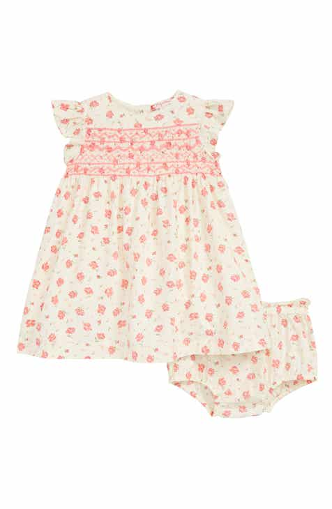 d9dd9455d2 Ruby   Bloom Lily Print Smocked Dress (Baby)