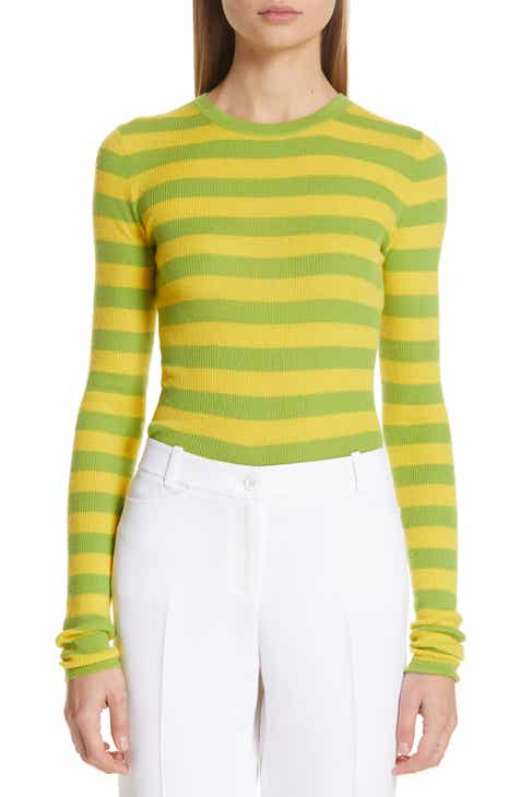 Michael Kors Stripe Cashmere Sweater by MICHAEL KORS