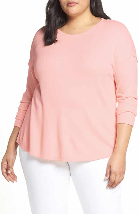 Sanctuary Daybreak Thermal Tee (Plus Size) 3f0d44b37